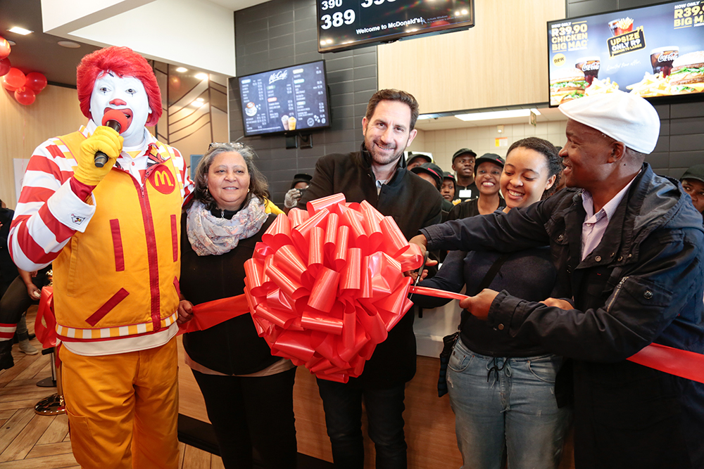 McDonald's 250th Store Opening