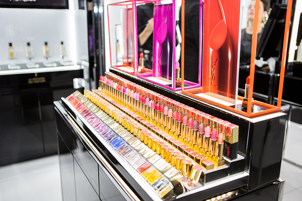 Yves Saint Laurent Store Launch